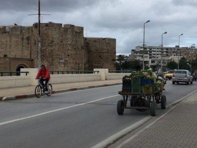 Emission free vegetable transport