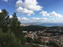 View from the mountains on Palma