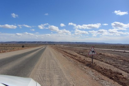 Getting closer to the Sahara desert