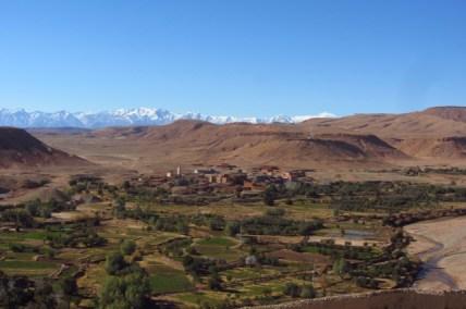 Stunning views on the Atlas mountains