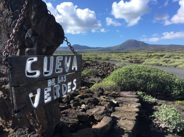 At the lava tunnels
