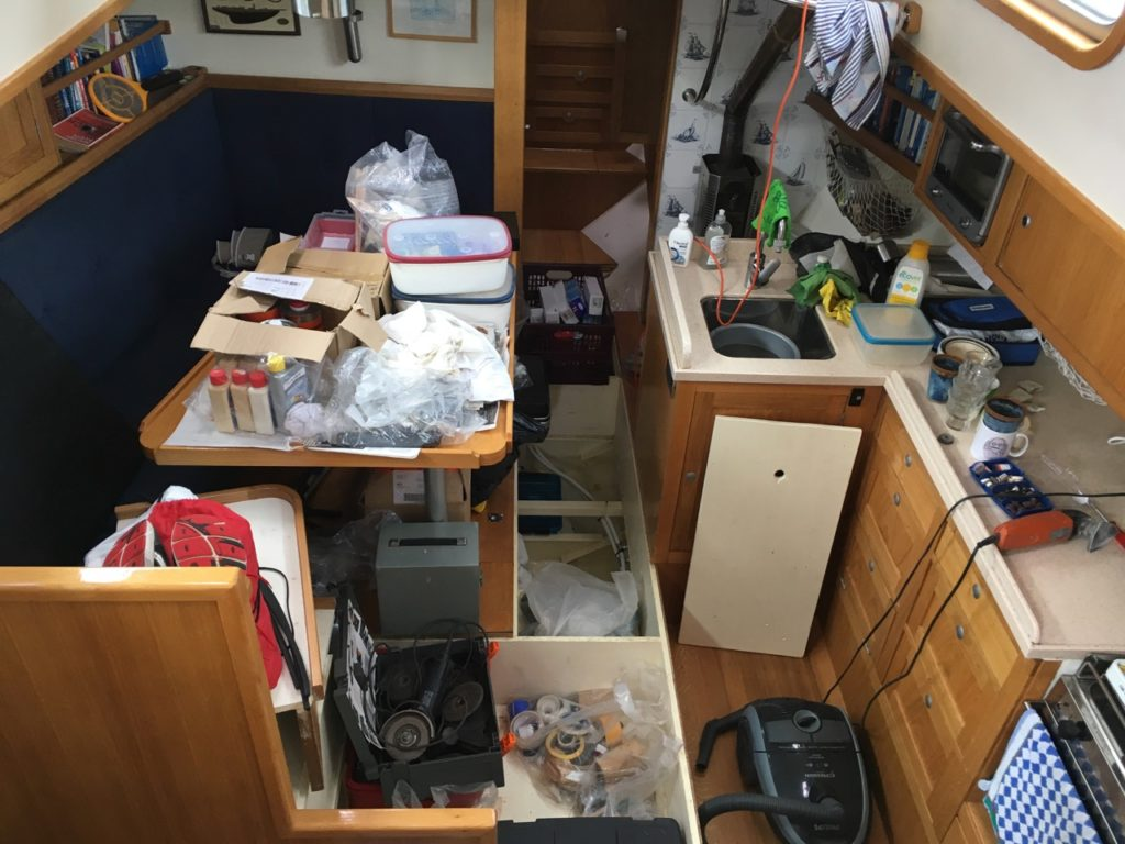 Cabin mess