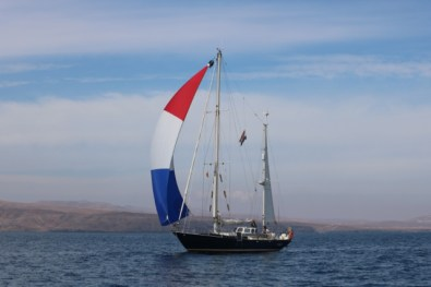 Sailing near Fuerteventura - picture by Thewindexpedition