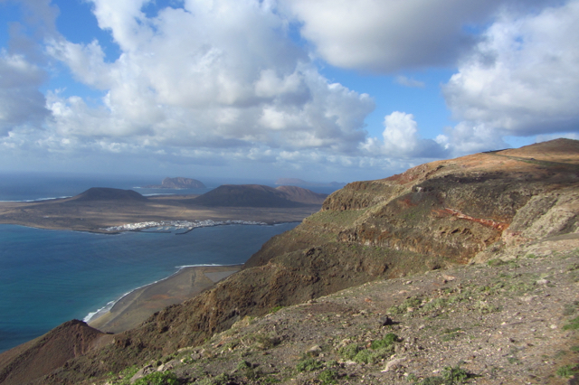 View on La Graciosa