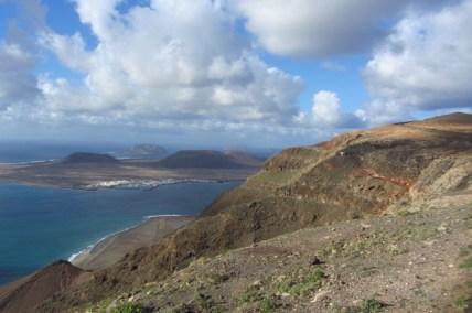 View on La Graciosa