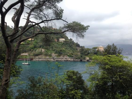 Anchoring near Portofino