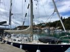 Our cheap berth in Kalamos harbour