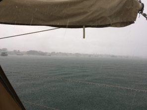 Tropical rain shower