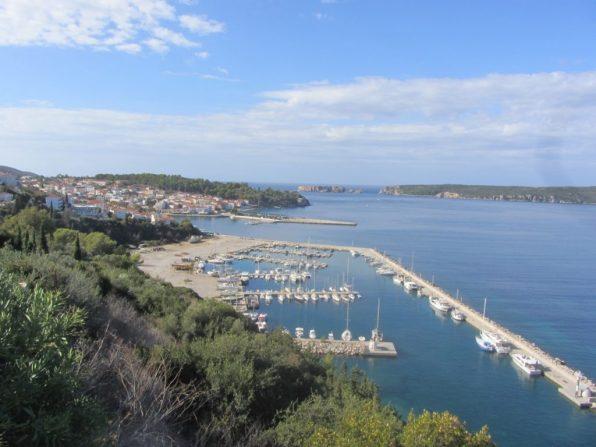 Pylos and its marina
