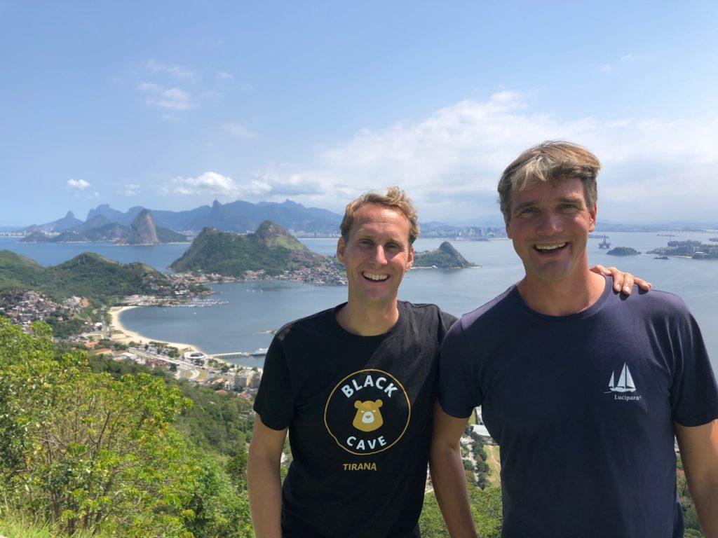 View from Niteroi to Rio