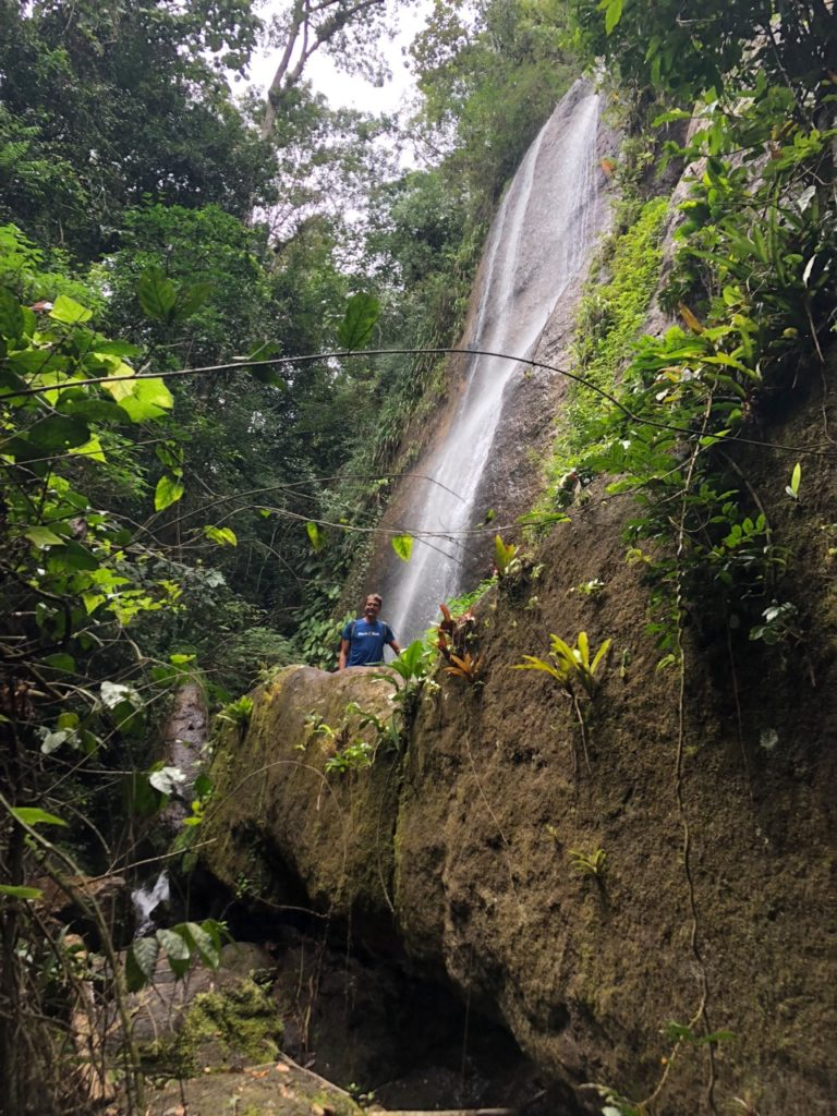 A real waterfall