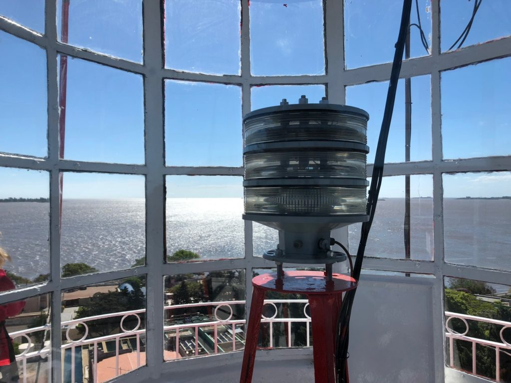 Colonia lighthouse view