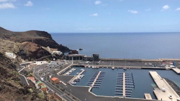 El Hierro's marina at Puerto de Estaca
