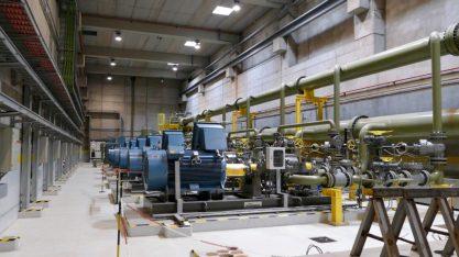 The hydropower turbines