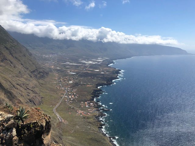 View on El Hierro's northern coast