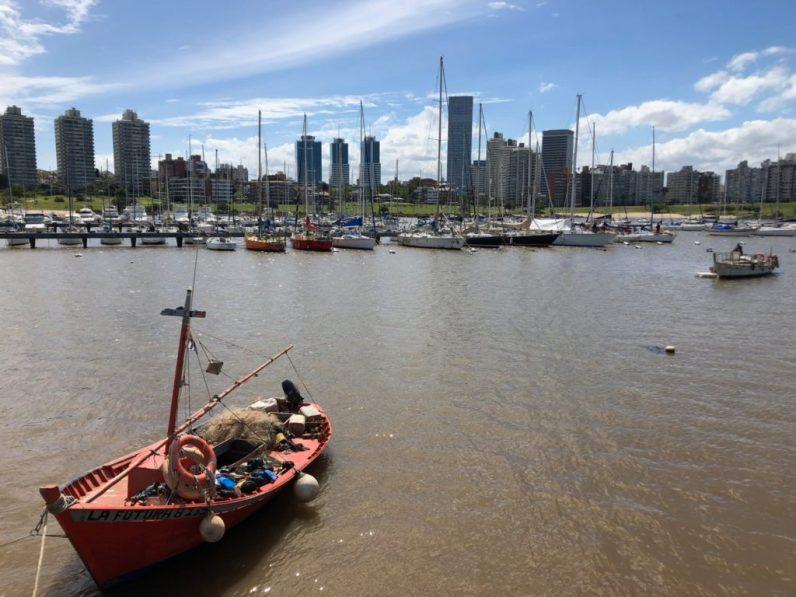 Yacht Club Uruguay in Buceo near Montevideo