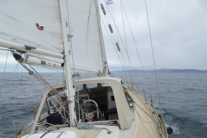 Entering the Beagle Channel