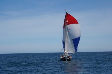 Leaving Puerto Deseado in perfect weather (Picture: Pazzo crew)