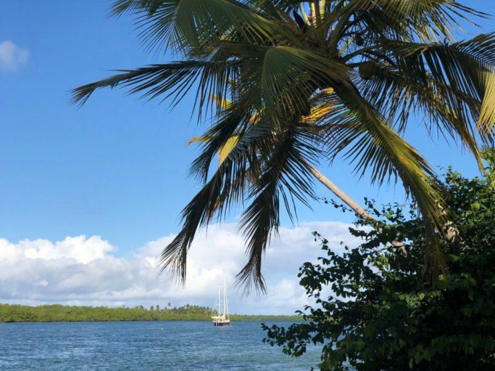 Lucipara2 anchored in Bahia