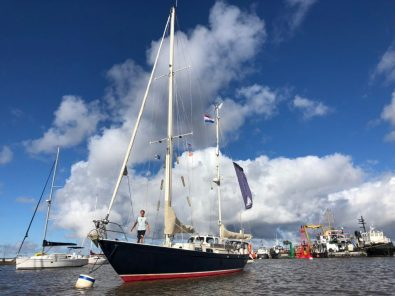 Lucipara2 firmly moored in Colonia