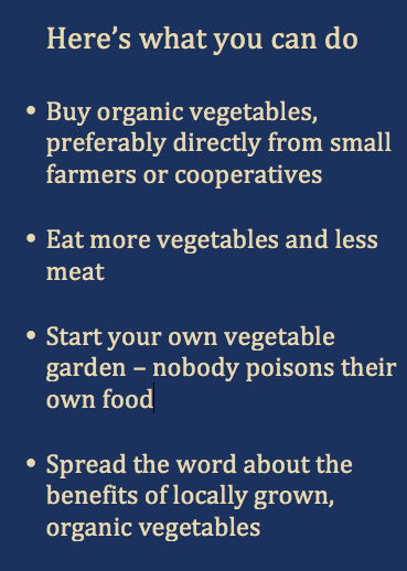 Here's what you can do - Alda's Organic Neighbourhood Farm