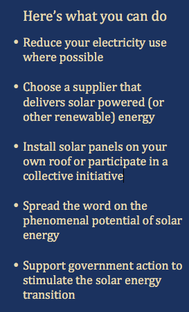 Here's what you can do - Spanish Solar