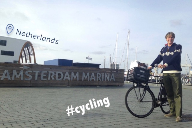 Sustainable Solution 01 - Cycling - Amsterdam leads the way