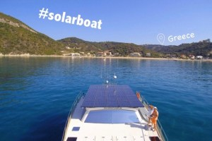Sustainable Solution 26 - Solar Boat