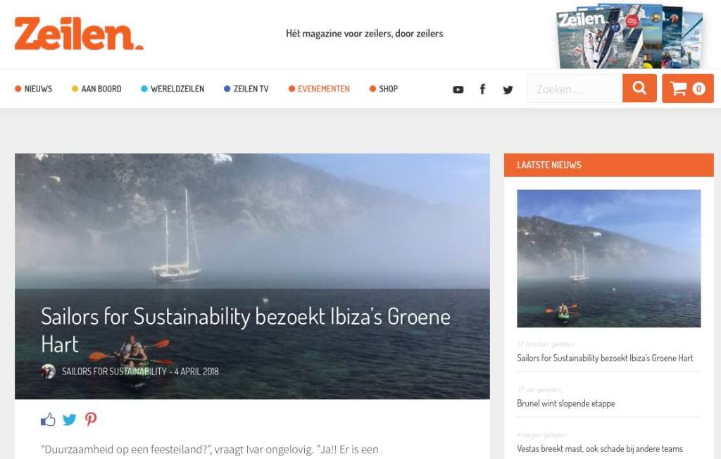 17 Sailors for Sustainability at Zeilen about Ibiza's Green Heart 20180404
