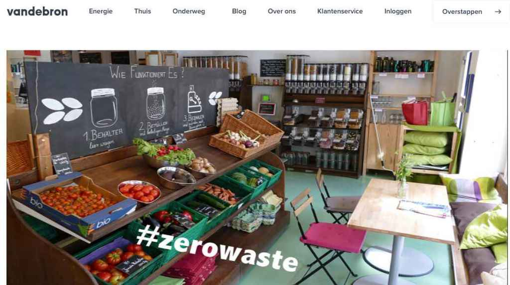 Blog 2 Sailors for Sustainability at Vandebron about Zero Waste
