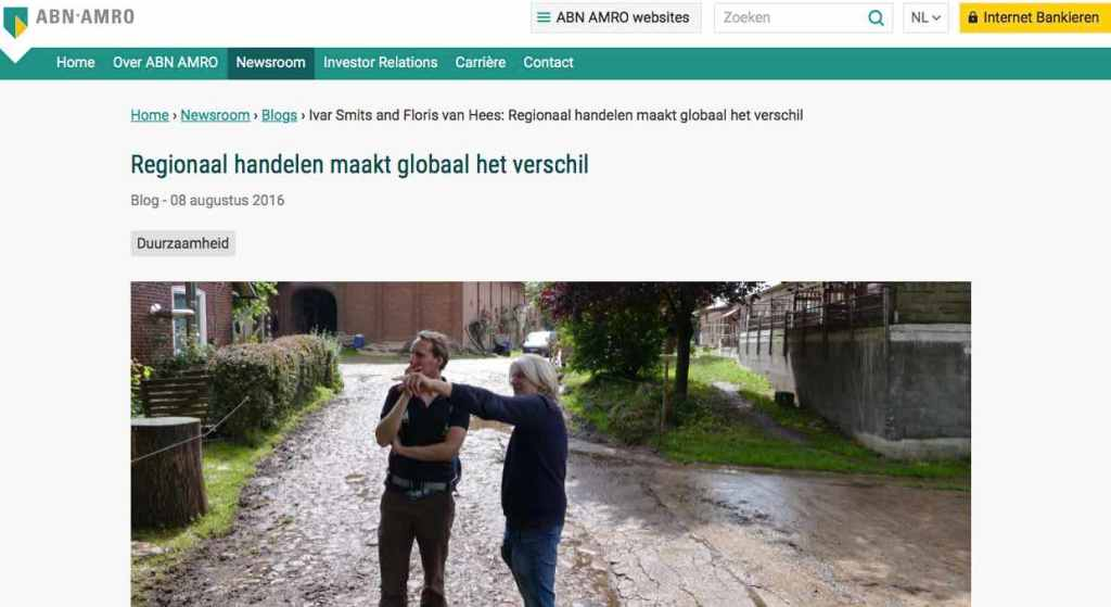 Blog 3 NL Sailors for Sustainability at ABN AMRO CSA