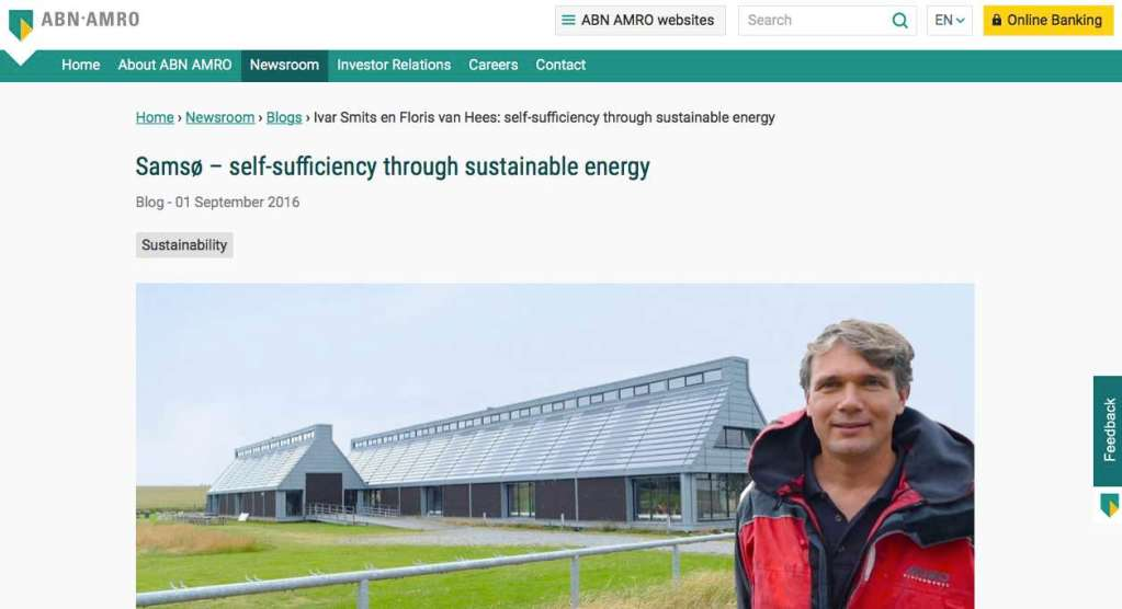 Blog 4 Eng Sailors for Sustainability at ABN AMRO Samso
