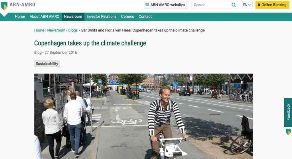 Blog 5 Eng Sailors for Sustainability at ABN AMRO Copenhagen Climate Action