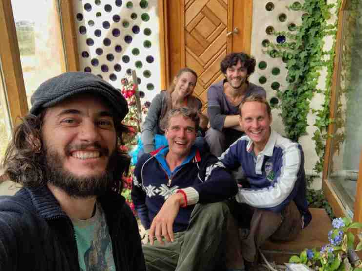 Meeting the lovely people behind Earthship Ushuaia