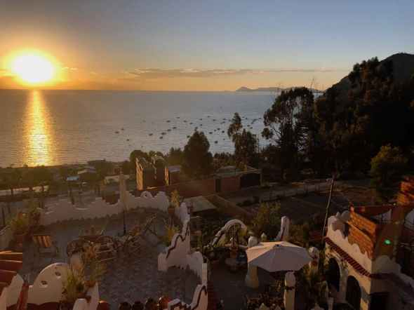 Puerto Montt feels far away from Lake Titicaca