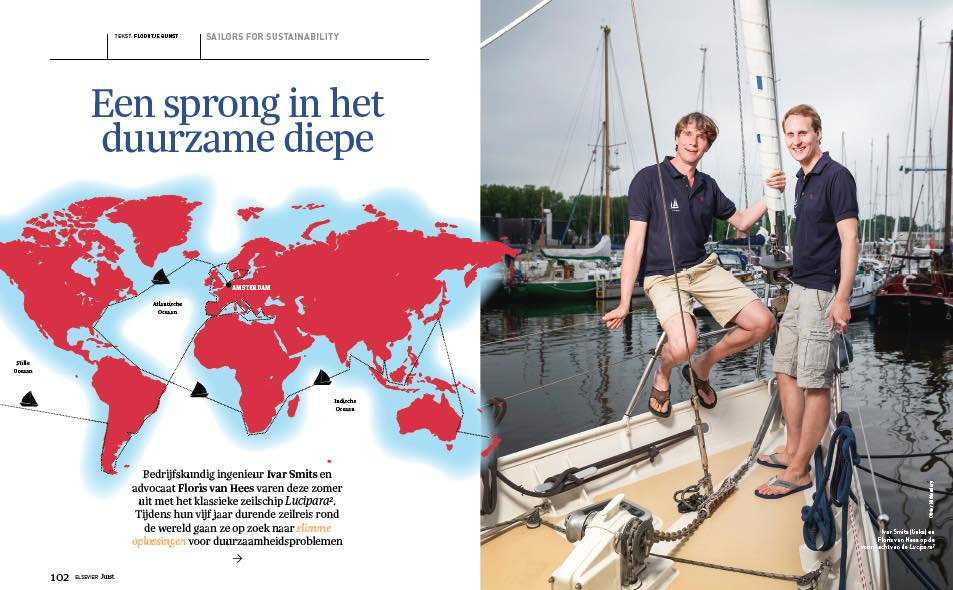Sailors for Sustainability at Elsevier Juist 201607