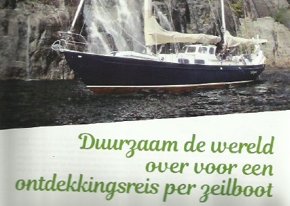 Sailors for Sustainability in Goede Reis magazine 201707