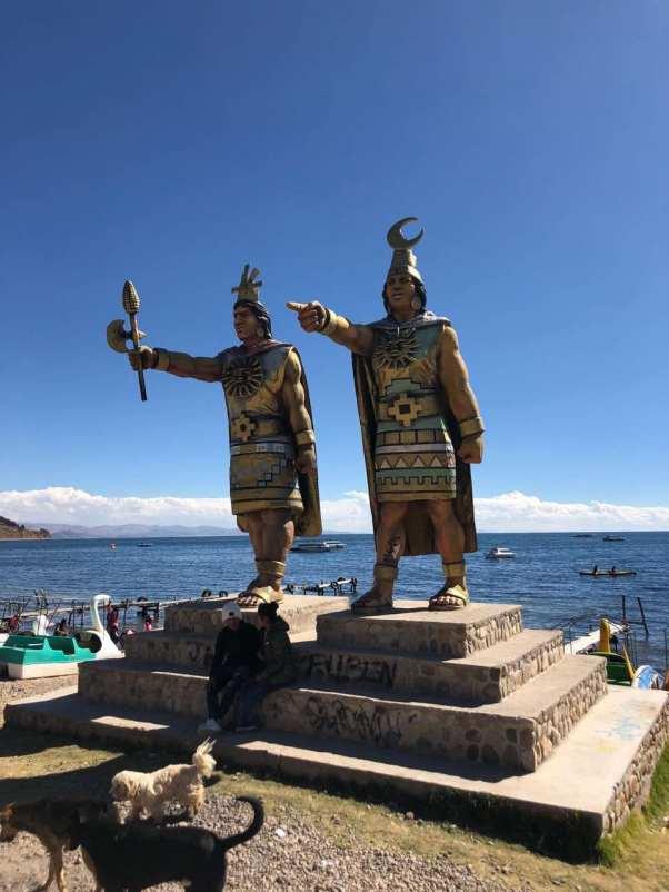 Tribute to Lake Titicaca's indegenious inhabitants
