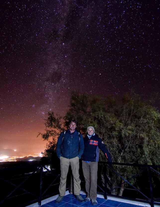 Amazing star gazing near La Serena