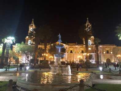 Evening in Arequipa