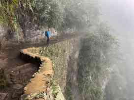 Hiking near Machu Picchu