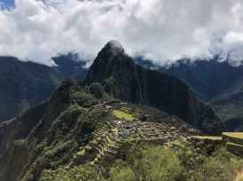 Machu Picchu revealing itself