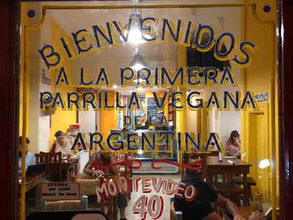 The first vegan parilla in Buenos Aires