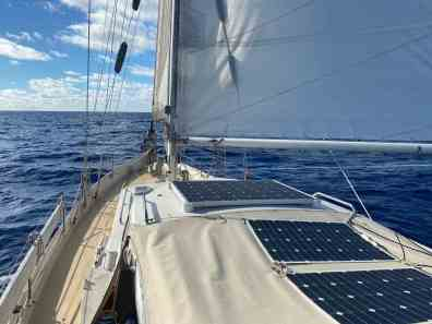 Sailing to Rapa Nui