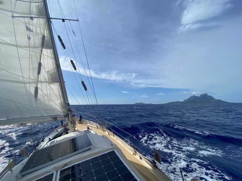 Almost at Bora Bora