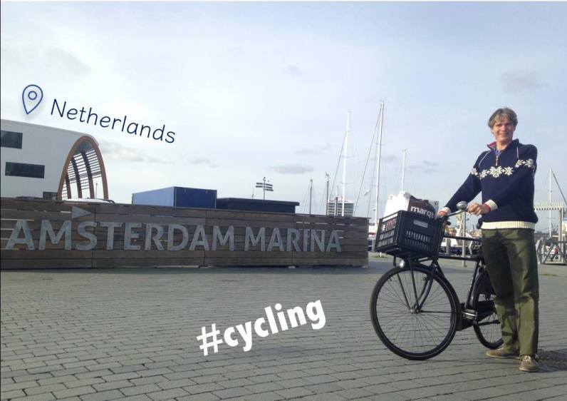 The Dutch cycling example