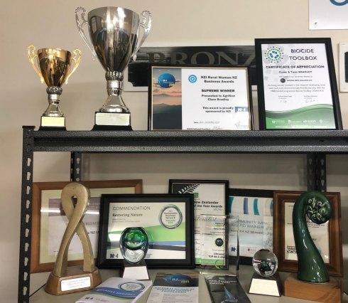 AgriSea has won many awards