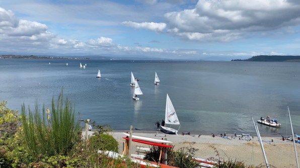 Lake Taupo is a great place for sailing