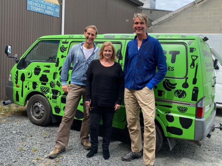 Meeting Deborah at Kiwi Harvest Dunedin