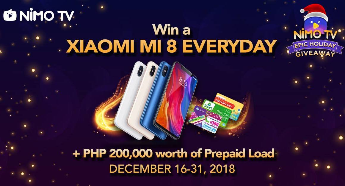 Watch Sinio and TNC Predator Pro Team's Armel and Tims via Nimo TV and Win Xiaomi Mi 8 Daily!